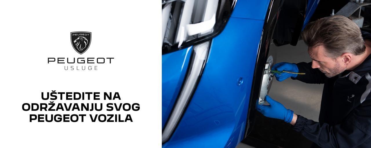 vrijednostni kupon servis Peugeot