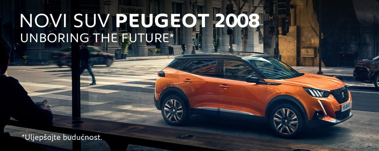 Novi SUV Peugeot 2008