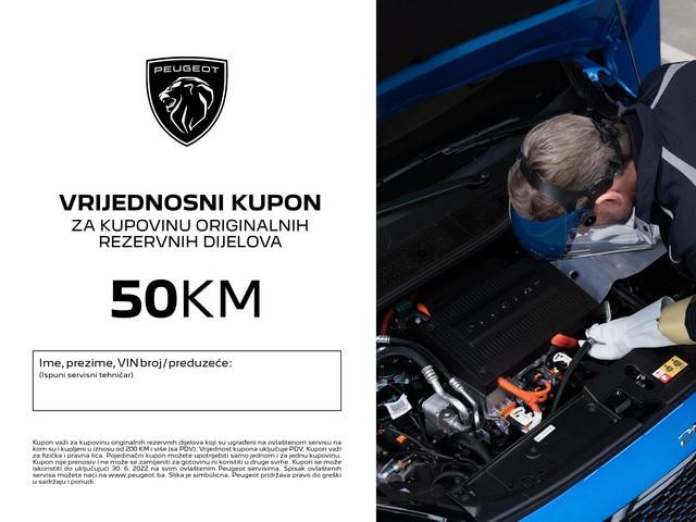 Peugeot vrijednostni kupon 50